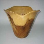 Don Albrecht's bowl, which was displayed at the 2012 Hawaii's Woodshow.